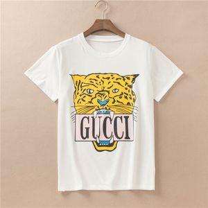Maglietta stampata della maglietta delle donne del progettista ultima maglietta stampata della donna di estate che desing le proprie magliette creative di lusso di stile di marca Tee
