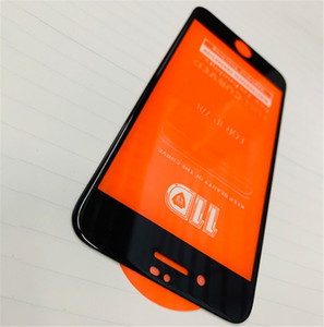 Para iphone 8 7 plus 6 s 6 plus 11d vidro curvo temperado para iphone xs max xr x filme protetor de tela