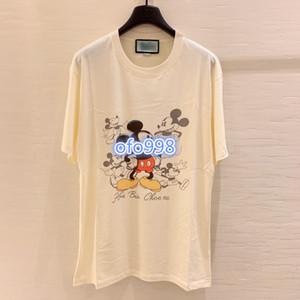 High-End-Frauen-Mädchen-T-Shirt Wartezeit für mich Rundhalsausschnitt kurze Ärmel Bluse Shirt Abschlag 2020 Sommer Mode-Design-Luxus-Pullover Tops drucken