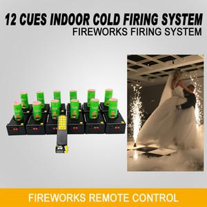Liuyang Счастье 12 Cues Холодные Фейерверки система розжига Remote Stage Wireless