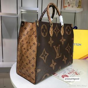 5A Yeni Deri Marka onthego Petite Boite Chapeau tasarımcı çanta kadın Monogrram Ters omuz çanta dairesel Messenger Crossbody çanta 5