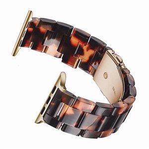 Resinarmband Für Designer Armband Apfel Uhr IWATCH Series 5 4 3 2 1 Wrist bracele iwatch Bänder Zubehör Armband Ersatz