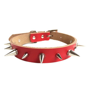 Spiked Small Dogs Collars Chihuahua Puppy Necklace Animals For Pets Product Cat-Collar Supplies Accessories hondenmand chien