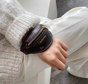 Progettista donne Borsa da polso di lusso Ragazze Mini Change borsa sveglia di modo casuale piccolo sacchetto di moda da polso della borsa // 7