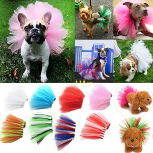 Cute Dog Pet Cat Puppy Tutu JUPE Vêtements de mariage Costume Vêtements