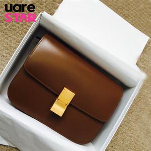 Classique boîte en forme de rabat dames shouder sac marque design PU sacs à bandoulière en cuir pour les femmes embrayage mode petit sac messenger