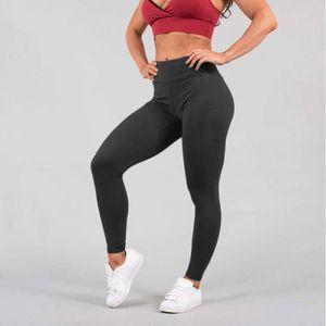 Womens Sport compresión de fitness polainas Running Fitness Gym usar pantalones de entrenamiento