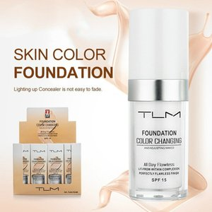TLM 30ml Flawless Color Changing Liquid Foundation Long-wear Makeup Change To Your Skin Tone By Blending