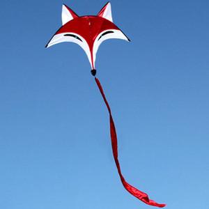 De alta calidad de la cometa linda deporte al aire libre de línea única Vuelo de la cometa Kite Beach Deportes fácil de volar con 30M Línea de vuelo para adultos de los niños