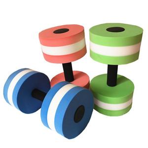 1Pcs EVA Acqua Aquatics Aerobica pesi manubri Fitness Piscina esercitazione di allenamento mezzo acquatico Barbell Training Fitness