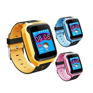Q529 Smart Baby montre compatible IOS Android SOS Appel Montres Anti-Perdu GPS Tracker intelligent montre pour la sécurité enfants