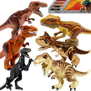 Jurassic World 2 Dinosaurier-Bausteine Jurassic Dinosaurier-Figuren Bricks Tyrannosaurus Rex Indominus I-Rex Modell Spielzeug