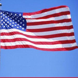 90 * 150 CM América Bandeira de Alta Qualidade Poliéster EUA EUA Bandeira Estados Unidos Estrelas Listras Ser Pround do País