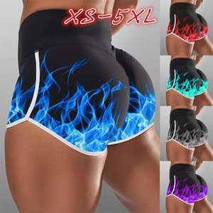 Yoga Outfits Womens High Waist Shorts Basic Slip Bike Compression Workout Fitness Leggings Capris Running Trousers Tights