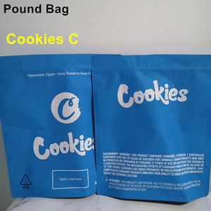 I più nuovi biscotti 1 Pound Bag 16oz Bianco Runtz Antolo a prova di imballaggio Borsa Biscotti Sterlina Pacchetto 420 Fiori di erba secca