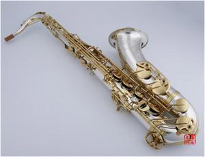 ياناجيساوا WO37 تينور ب ب اللحن الساكسفون B شقة براس آلات موسيقية النيكل بالفضة الجسم مفتاح ساكس مع حالة لسان الحال
