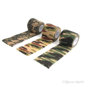 La selección de U 4.5M * 5cm 20 Rollo impermeable al aire libre de Camo que va de excursión de caza camuflaje óptico cinta Wraps envío