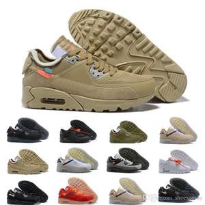 Hommes 2018 Chaussures de course Sneakers off Desert Ore Brown Créateurs de mode Luxe Classique off white 90 just do it nike