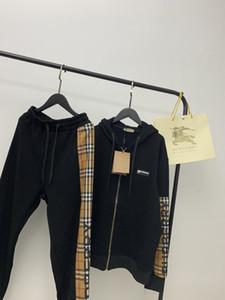 2020 Un par de modelos hombres y mujeres de la calle de América camisetas de la manera clásica de las mujeres del algodón importado cómoda artesanales en relieve abrigos Zipper