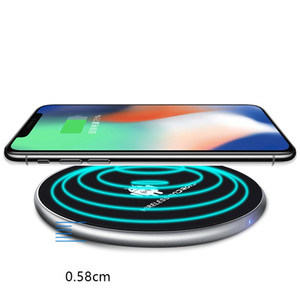X16 High quality Qi wireless charger charging for Samsung S6 S7 Edge S8 Plus iphone X 8 Fantasy fast delivery, retail packaging