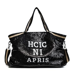 2020 Appliques Lady's Handbags Sequin Women Bags Female Large Capacity Top-handle Bags National Casual Tote Girl Messenger