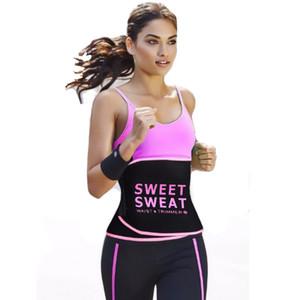Taillentrainer Slimmerbelt Taillenformer Tummy Control Sweet Sweat Belt Modeling Strap Body Shaper Frauen Sport Fitness Gürtel