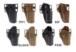 Manicotto per pistola a pistola a pull veloce per P226 92F 1911 HK USP.45 G17-32 Roby Engineering Plastic Good Enginement.