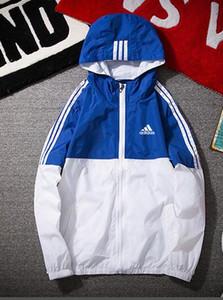 Sommer New SweatshirtHoodie Langarm Frühling Sonnenschutz Sport Zipper Windjacke Herren Kleidung Hoodies Männer Frauen Designer-Jacken-Mantel