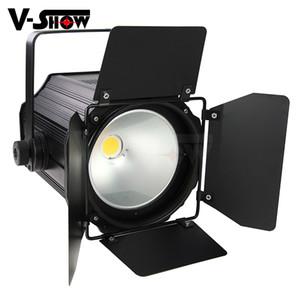 1pc 200W COB Fresnel Studio LED de scène pour appareil photo Équipement vidéo LED lumière spot profil