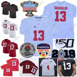Individuelle Alabama Crimson Tide Football Jersey NCAA Anfernee Jennings Keilan Robinson Henry Ruggs III Jerome Ford Forristall Ray Dale