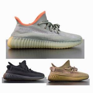 Fábrica Top V2 kanye sapatos oeste cauda cinza linho mulas terra luz pântano sábio do deserto oreos beluga executando tênis com estoque caixa x