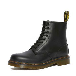 Tall Boot Schuhe koreanische Version Dicke Sohle und High Top-beiläufige lederne Schuhe Mens gestickte Loafers Mid-Boot-Martin-Schuhe V64 # 747