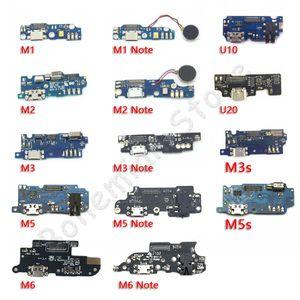 10psc USB de carga Puerto de conexión de muelle del cargador cable de la flexión Meizu M1 M2 M3 M5 M6 M5 M3S Nota Mini U10 U20 móviles de piezas de reparación de teléfonos