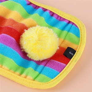 Rainbow Color Dog Warm Wool Colorful Physiological Pants Pet Dog Diapers Physiological Pants Pet Supplies