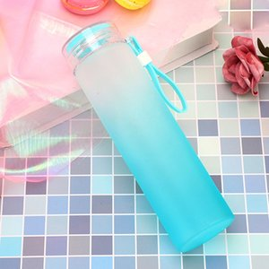 Creative Large-Capacity Water Bottle Leak-Proof Glass Portable Travel Sport Cup