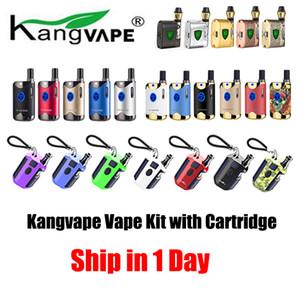 1pc Kangvape TH-420 II 2 710 Zeus Mod Box Kits Vape Cartouches Vape Pen Kits de démarrage variable tension de la batterie E Kit cigarette