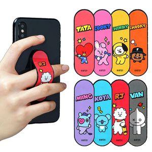 Universal Cute BTS Phone Back Holder Finger Ring For Phone Telescopic Mobile Phone Holder For Teenager 039