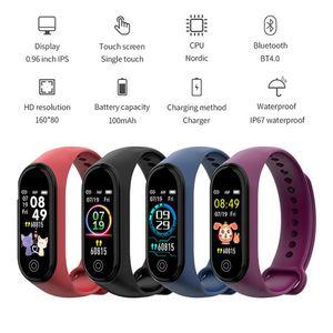 M4 Plus Smart Band Watch Bracelet 4 Heart Rate Sports Bracelet Blood Pressure Smartband Monitor Health Wristband