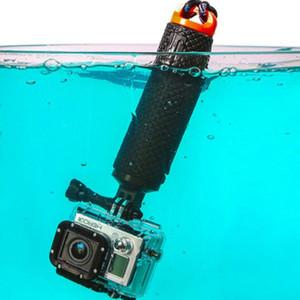 Waterproof aperto Floating Mão Para GoPro Camera 7 Sessão 6 5 4 3 + Water Sport Câmeras Ação Monopod Handler acessórios flutuabilidade haste