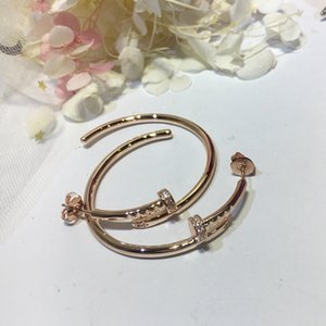 Beliebte Marken Sterling Silber 925 Fashion Luxury Party Simulation Schmuck Damen Clou Ohrringe Big Hoop Nail Party Ohrringe