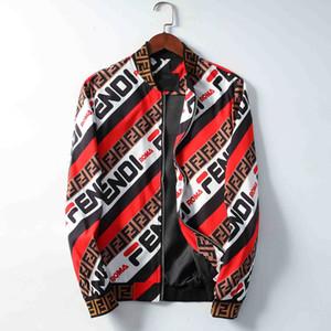 Design Jacke 2019 Fashion Trend Herren Mantel Mantelbuchstabedruckens Druck Luxuxmänner Hoodie beiläufige Pullover Sport-Mantel im Freien Windjacke