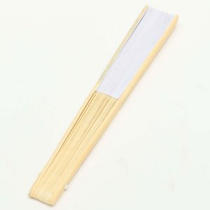 20 Pcs Fan White For Painting Calligraphy DIY Gift Decoration White Other Home Decor