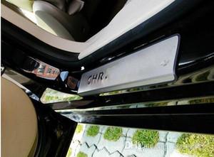 La alta calidad de acero inoxidable 4pcs umbrales de las puertas de desgaste placa base, placa de protección, puerta alféizares barra de protección para Chrysler Sebring