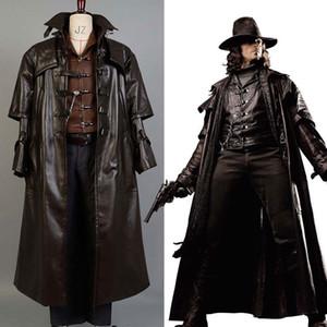 Abraham Van Helsing Caçador de Monstros Cosplay Traje Caçador de Vampiros
