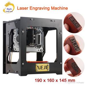 NEJE Laser máquina de gravura 1000 mW ou 1500mW alta Energe DK-8-KZ ou DK-8-FKZ ou DK-BL gravador de alta velocidade Micro Espelho Tipo Stamp Criador
