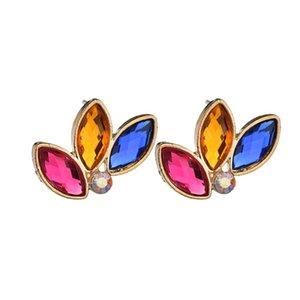 2019 New Design Bohemian Sexy Statement Earrings Fashion Brand Jewelry Wedding Stud Earrings For Women Wholesale E2810