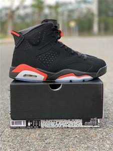 2019 6 s og Preto código Infravermelho: 384664-060 mens tênis de basquete com caixa 6 s sneaker trainer frete grátis atacado top quality