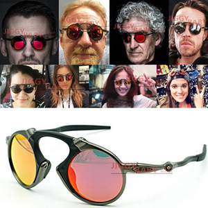 Top madman Sunglasses X-Metal Polarized Sports Riding Cycling UV400 Iridium Mirror Driving Brand Designer Sun Glasses Men Women High Quality