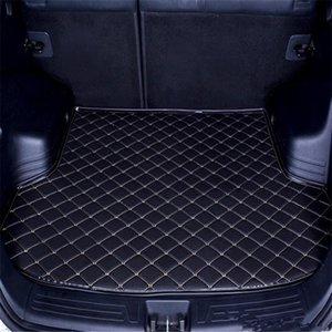 Ücretsiz Kargo 2009-2019 Yıl Mercedes-Benz B sınıfı Araç Gövde Mat Su geçirmez deri Halı Araç Gövde Mat Düz Pad Anti-skid