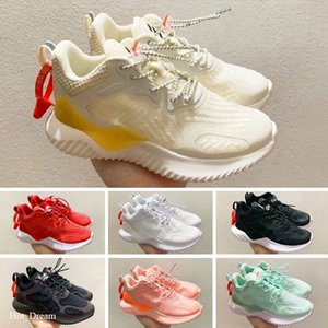 Free shipping OG Kids Runing Shoes boys runner Silver Pink Blue Black Children outdoor toddler athletic boys girls sneakers